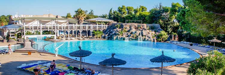 Camping le soleil argeles camping 5 etoiles pyr n es for Camping dives sur mer avec piscine