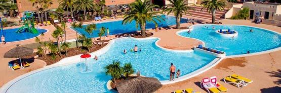 Camping 5 étoiles avec piscine Saint Cyprien