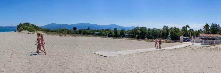 Camping saint Cyprien plage