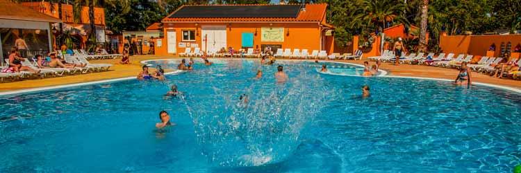 Espace aquatique 4 étoiles camping Argelès