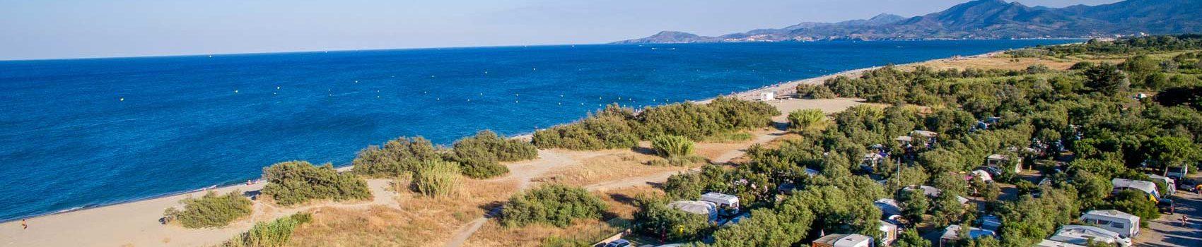 camping st cyprien bord de mer