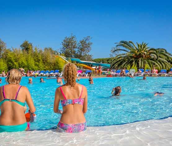 Camping piscine 4 étoiles Argelès sur mer