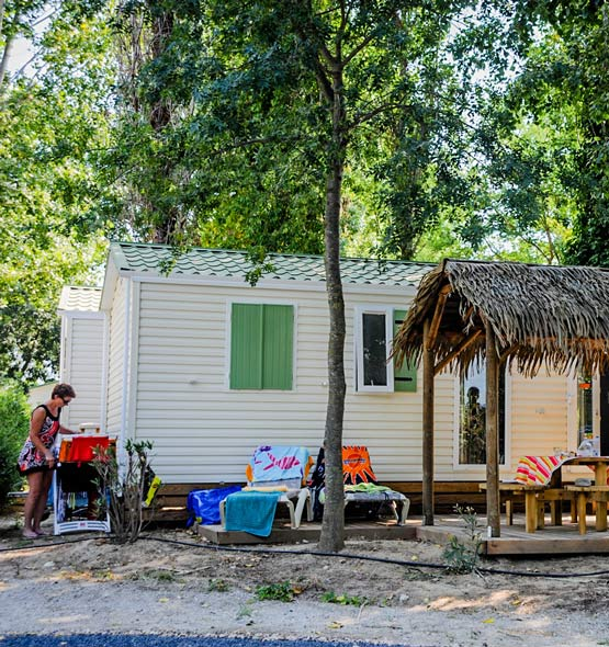 Location mobile-home camping Argeles 5 étoiles