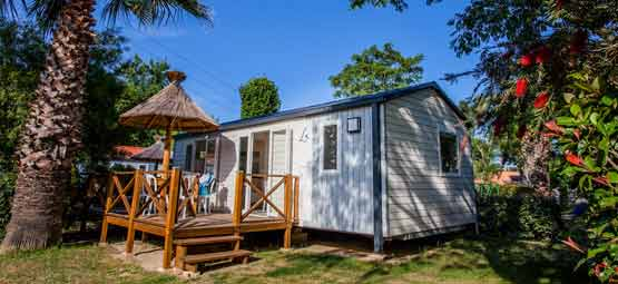 Mobile-home location camping Argeles